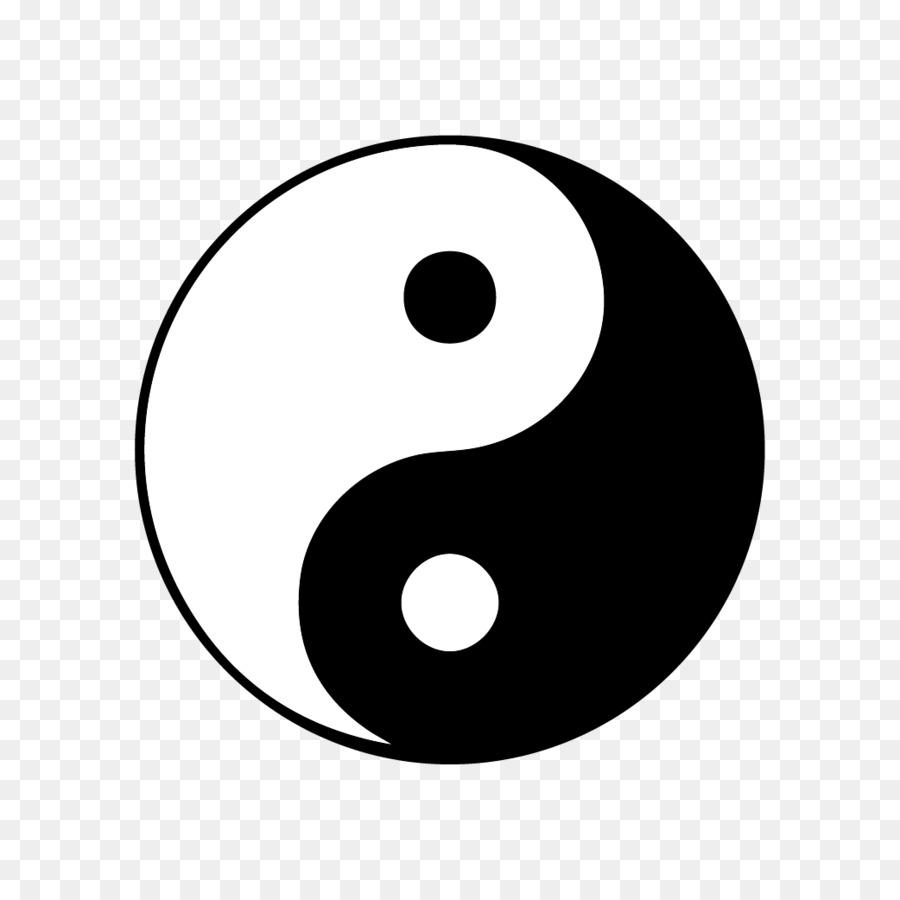 Symbol Yin And Yang Clip Art China Png Download 10421042 Free