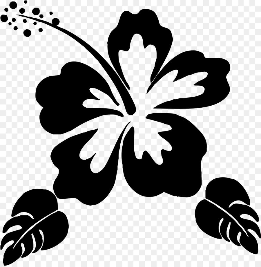Silhouette flower stencil clip art hawaii flower png download silhouette flower stencil clip art hawaii flower izmirmasajfo