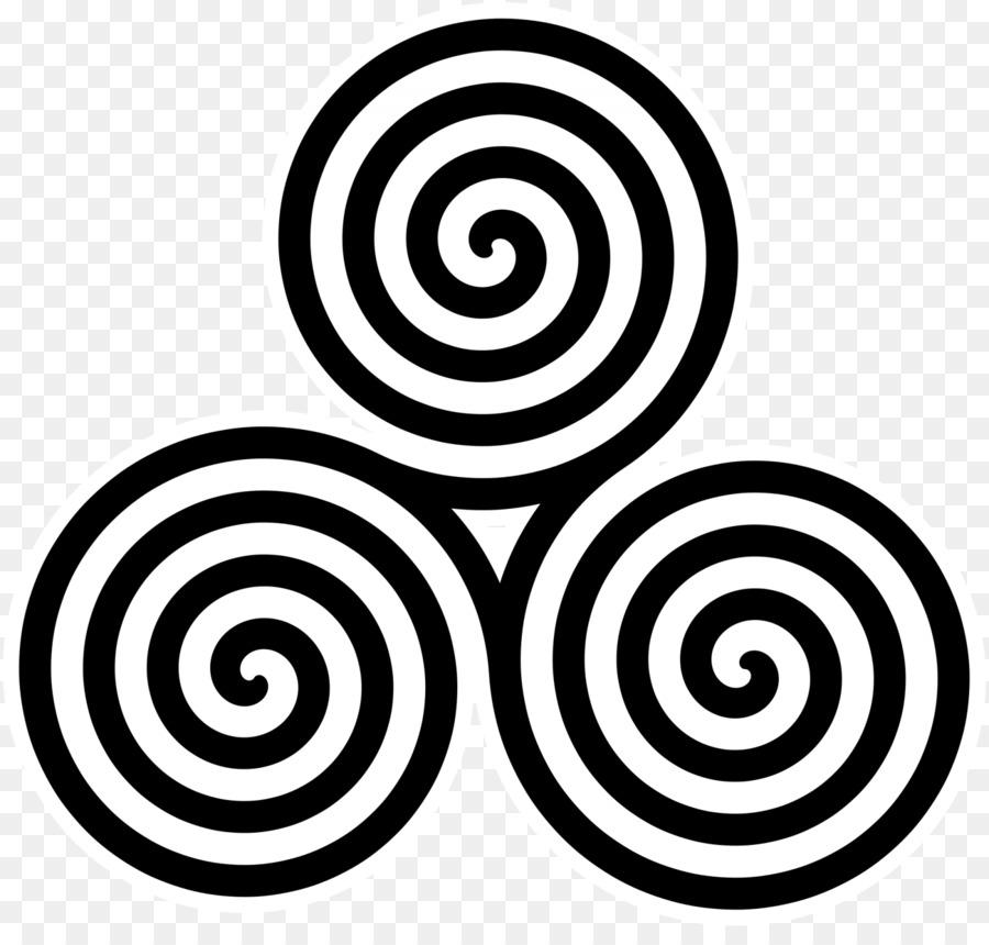 Triskelion Archimedean Spiral Symbol Celts Lucky Symbols Png