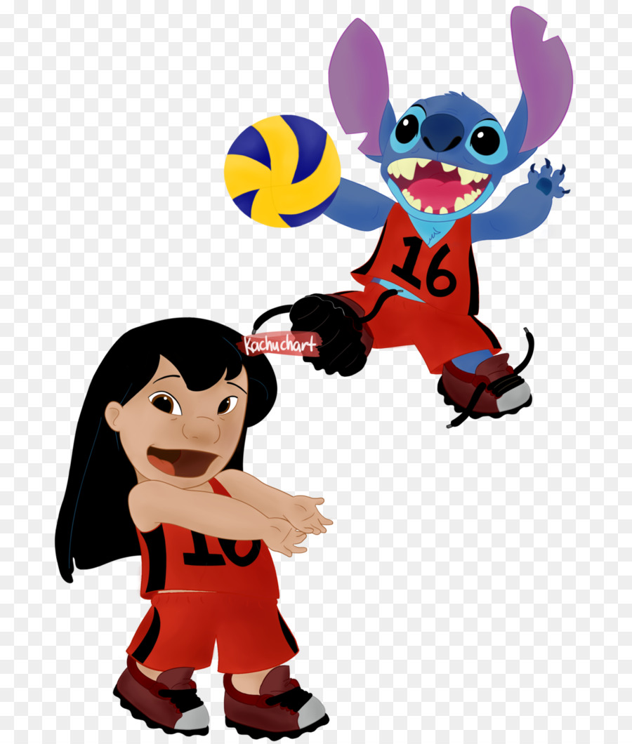 lilo stitch lilo pelekai volleyball art lilo png download 755