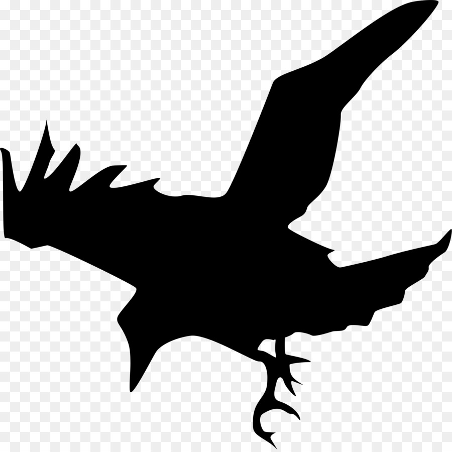 common raven silhouette clip art flock of birds png download rh kisspng com  clipart raven bird