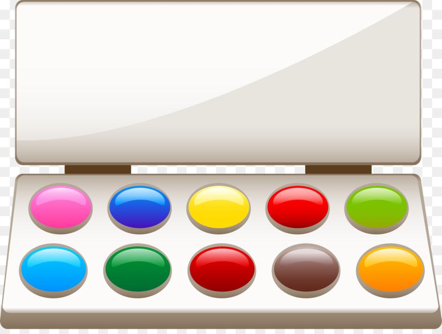 Картинка детям краски