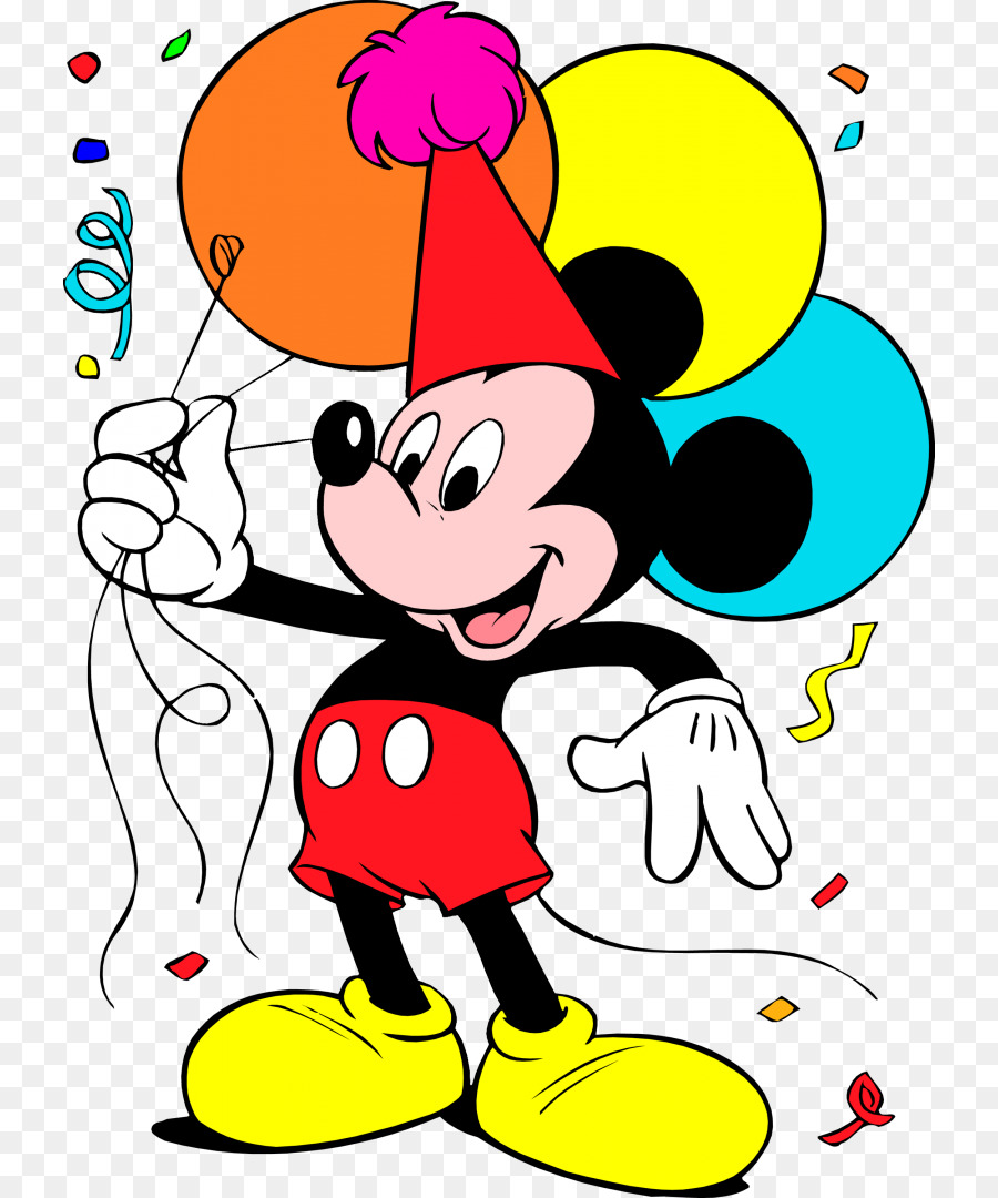 Mickey Mouse Minnie Mouse Donald Duck Birthday Clip Art Minnie