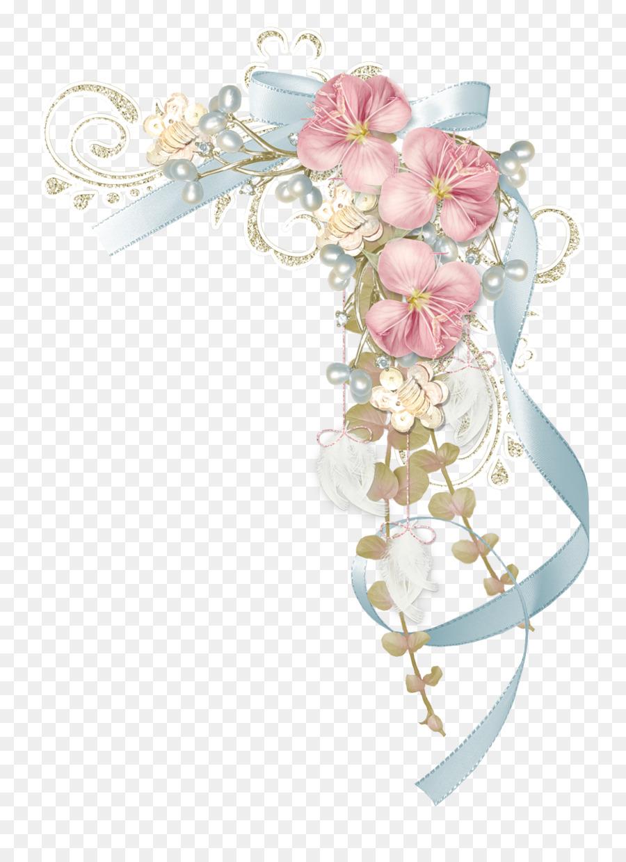 Paper ribbon flower papel de carta corner flowers png download paper ribbon flower papel de carta corner flowers mightylinksfo