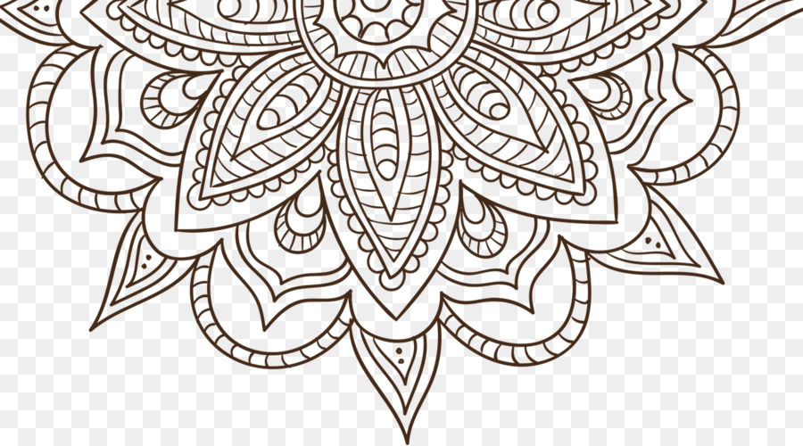 Mandala Da Colorare Disegno Di Meditazione Per Adulti Altri