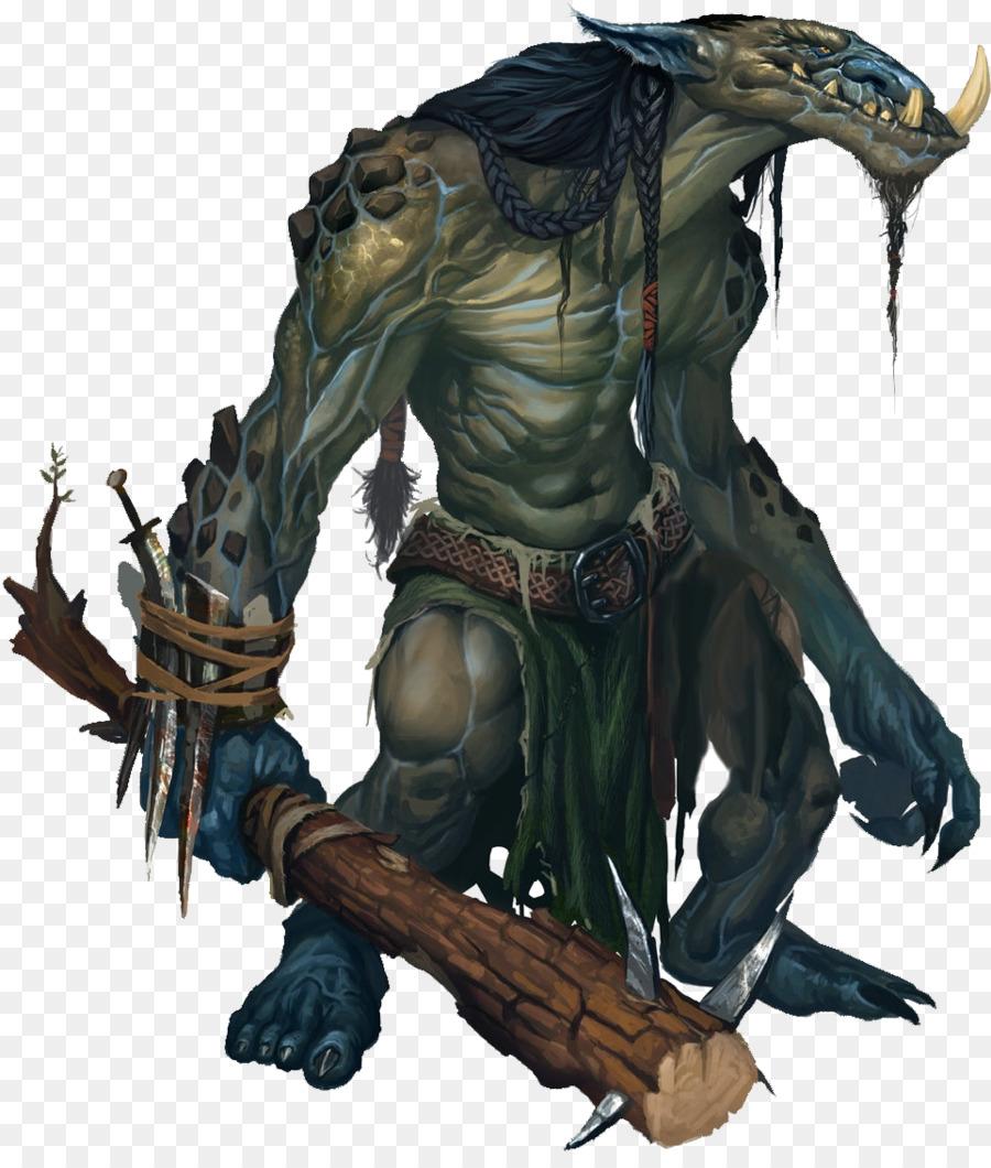 Pathfinder Roleplaying Game Dungeons Dragons Troll Fantasy Dwarf