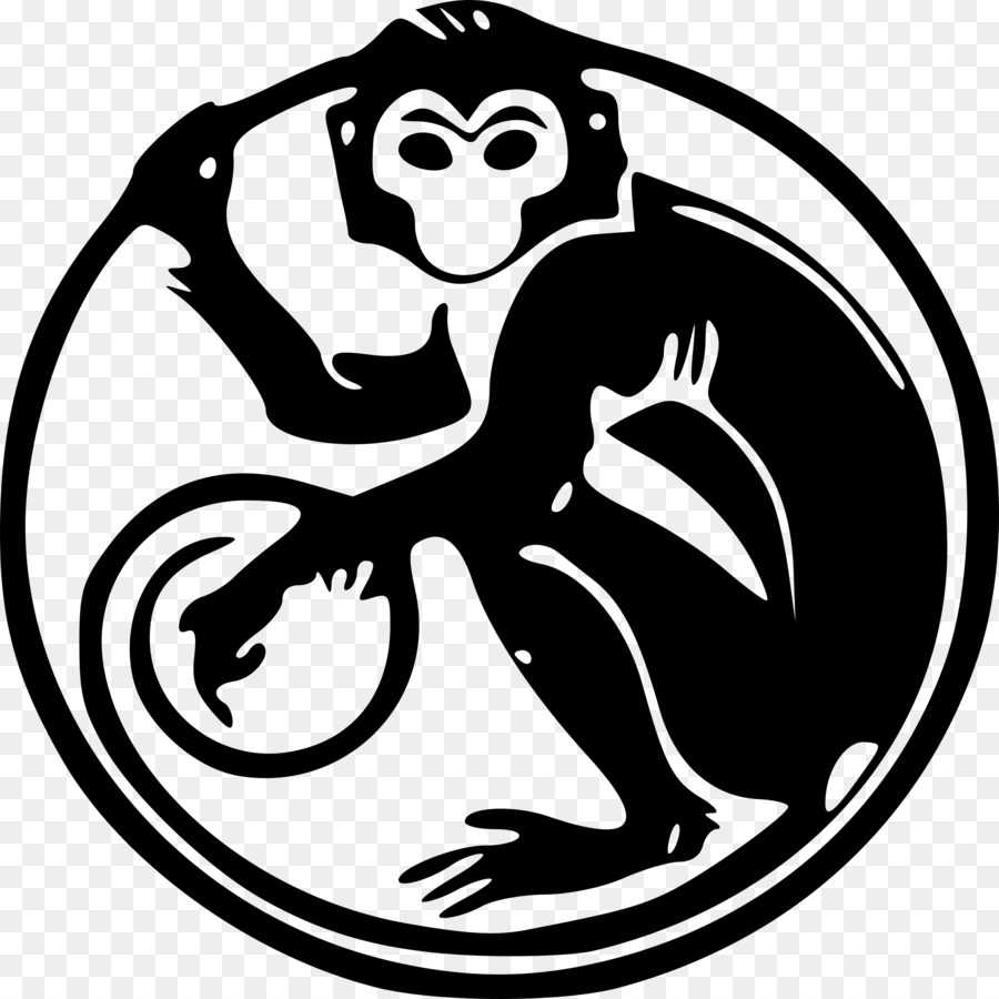 Monkey Chinese Zodiac Chinese Astrology Rat Png Download 2000