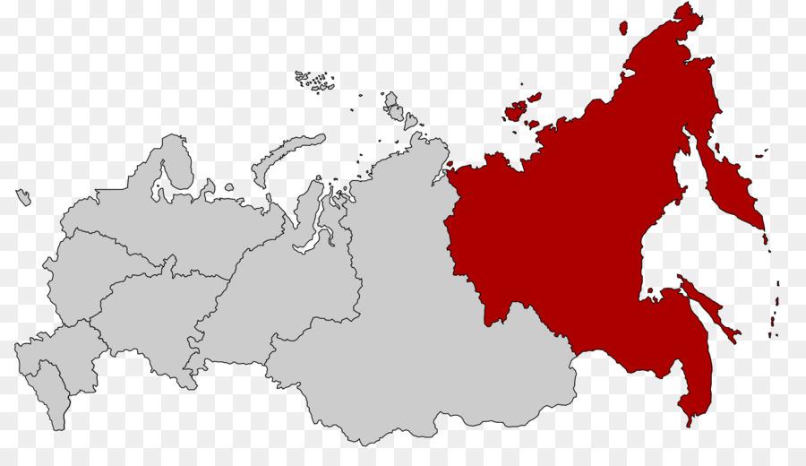 Far Eastern Federal District Eastern Europa Karte World Map-Bild ...