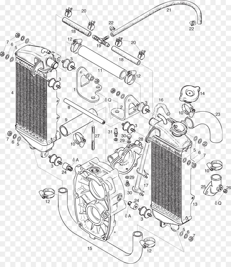 Car BRP-Rotax GmbH & Co. KG Wiring diagram Rotax 447 Rotax 503 - Radiator