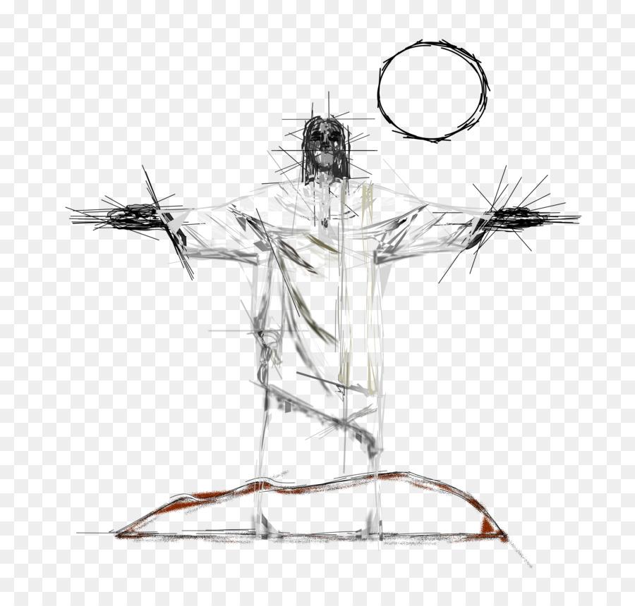 Dessin Christ Redempteur le christ rédempteur de dessin - jésus christ téléchargement png