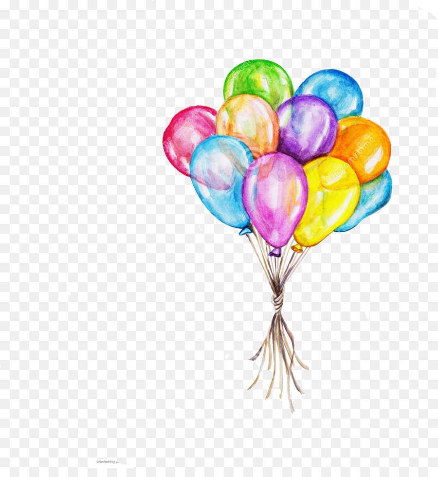 Birthday Cake Party Drawing Cinco De Mayo Balloons Png Download