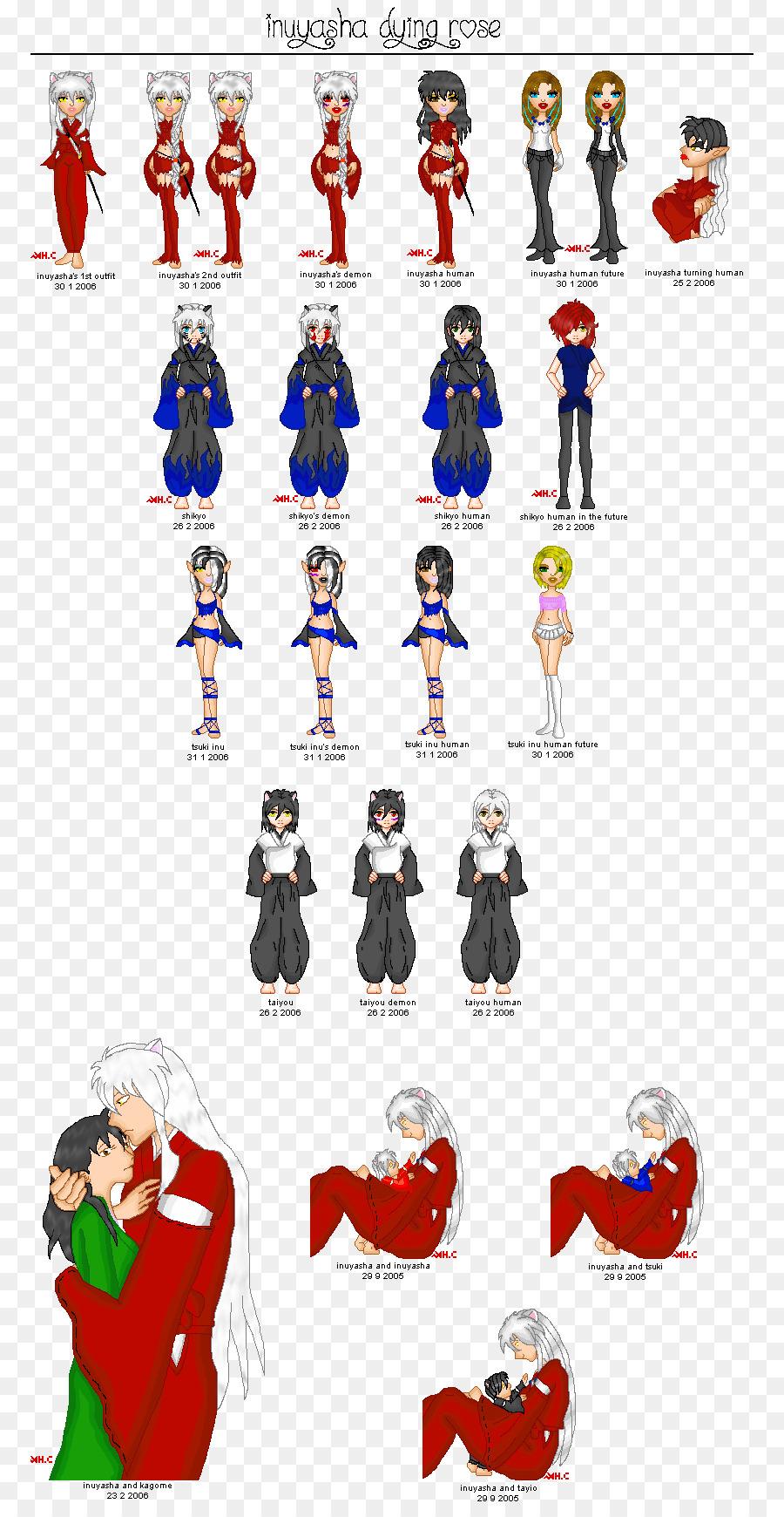 Graphic design Art - inuyasha png download - 830*1722 - Free ...