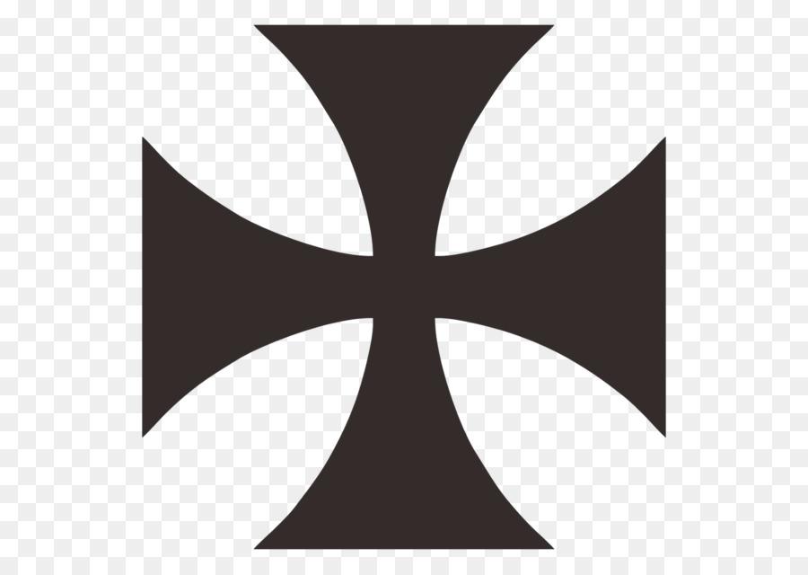 Maltese Cross Symbol Logo Christian Cross Png Download 16001136