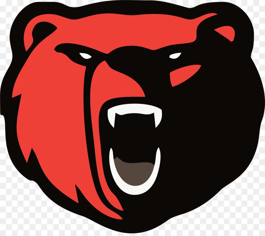 polar bear logo american black bear chicago bears bear png rh kisspng com  free chicago bears clipart