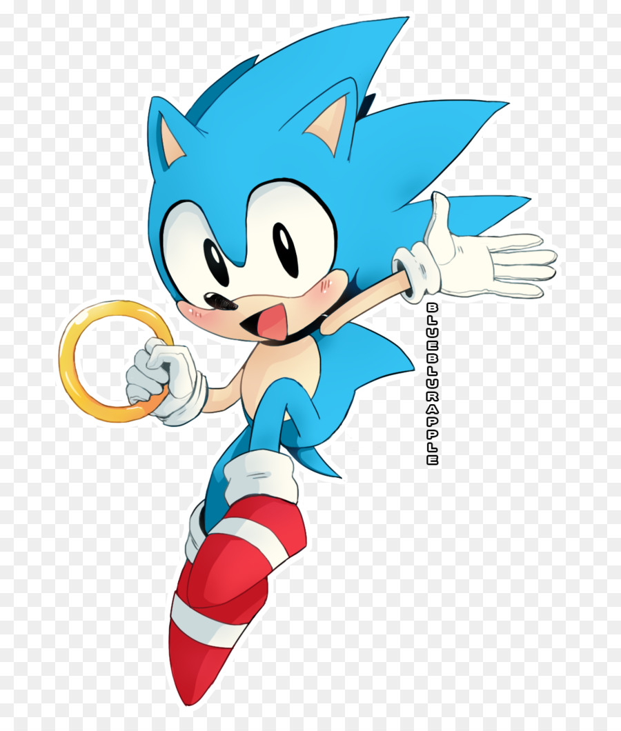 Sonic The Hedgehog png download - 754*1060 - Free Transparent Sonic