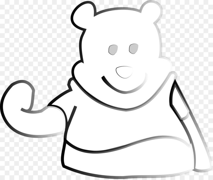 Drawing Line art Ranah Cartoon Winnie the Pooh - winnie pooh png ...