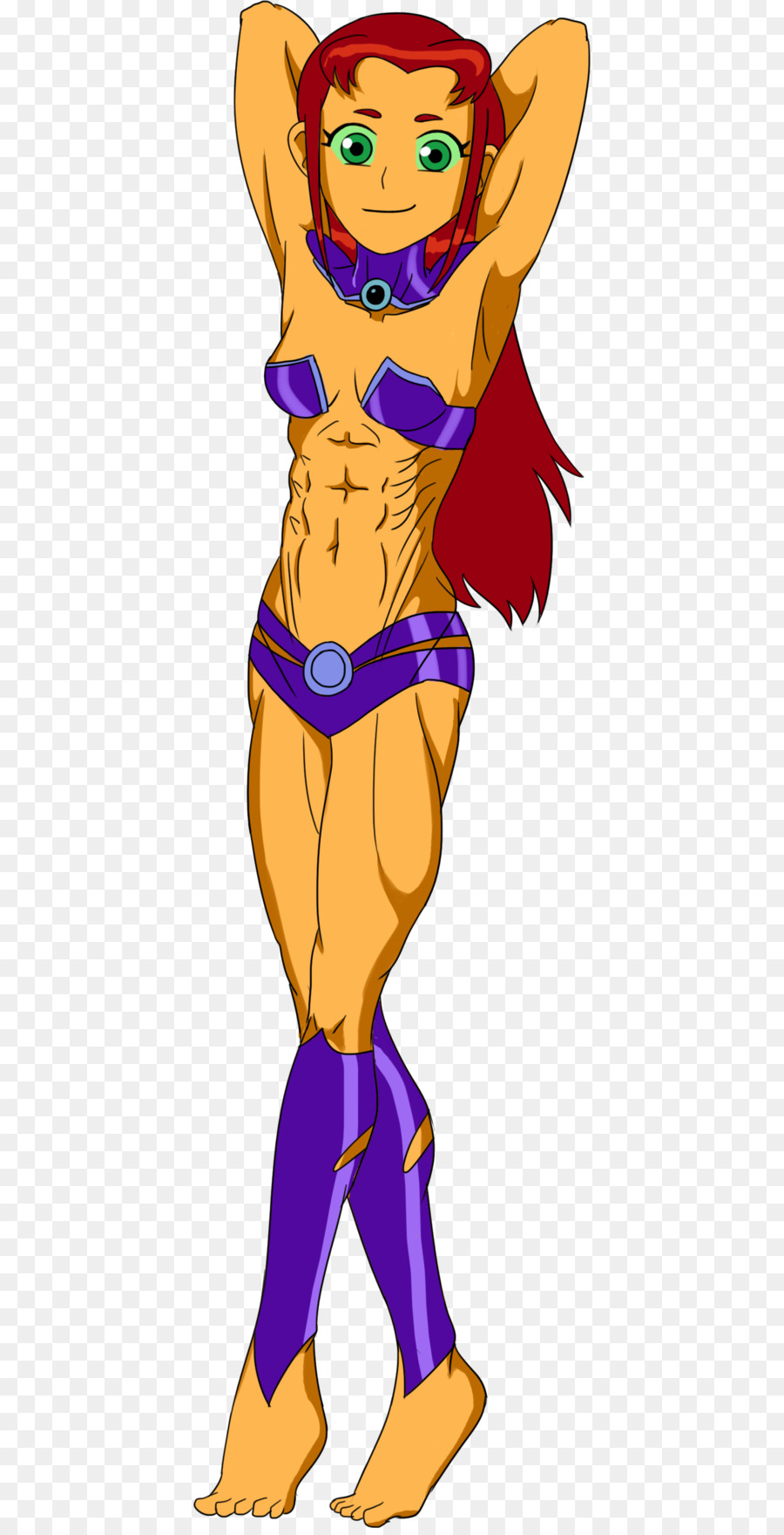 go comics starfire raven titans and Teen