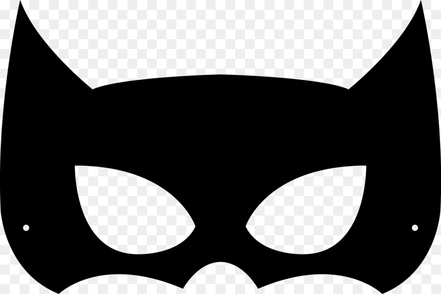 Batman Mask Transparent Background
