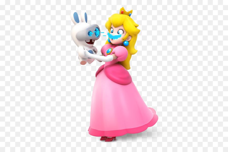 Mario + Rabbids Reino Batalla A La Princesa Peach De Mario & Luigi ...