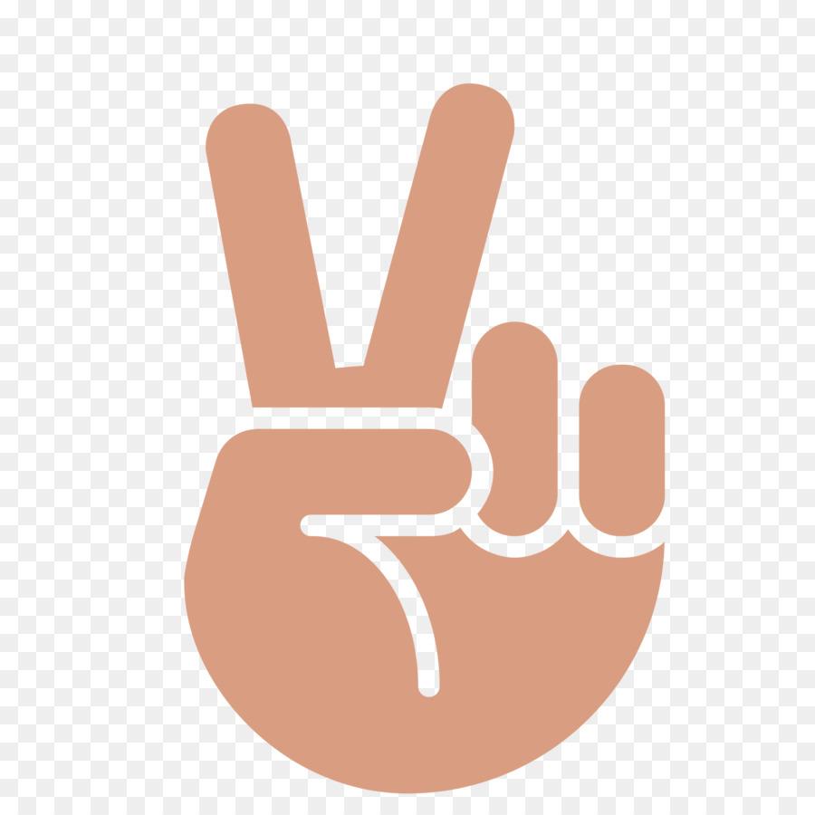 Emoji Peace Symbols Emoticon Smiley Hand Png Download 20002000