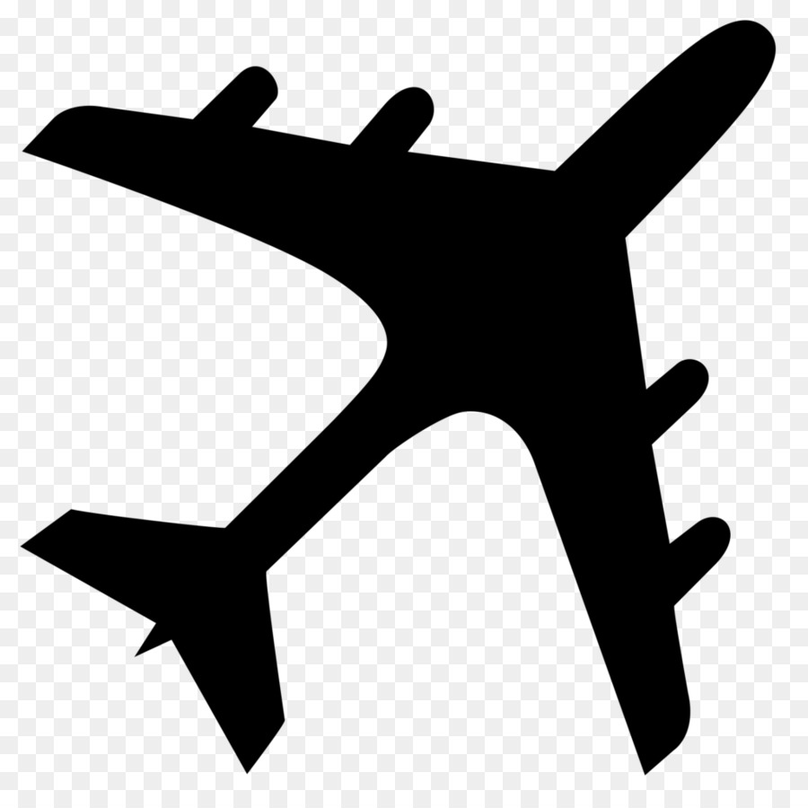airplane aircraft silhouette clip art airplane png download 1024 rh kisspng com