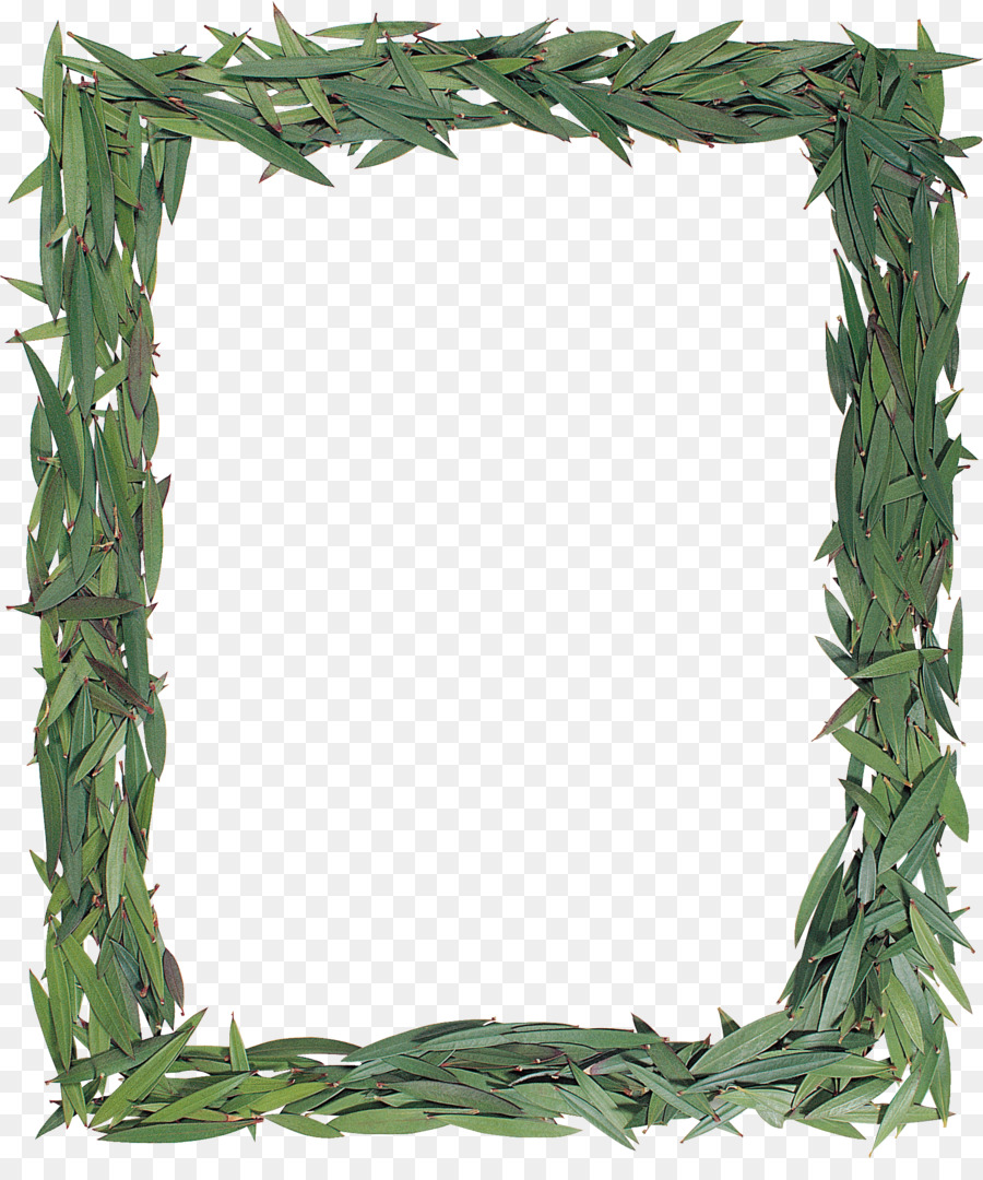 Marcos Clip art - hojas verdes png dibujo - Transparente png dibujo ...