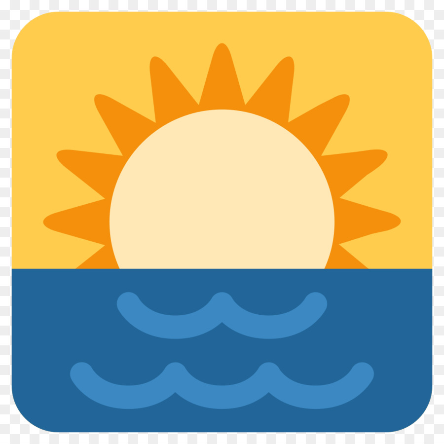 Emojipedia WhatsApp SMS Text messaging - sunrise png