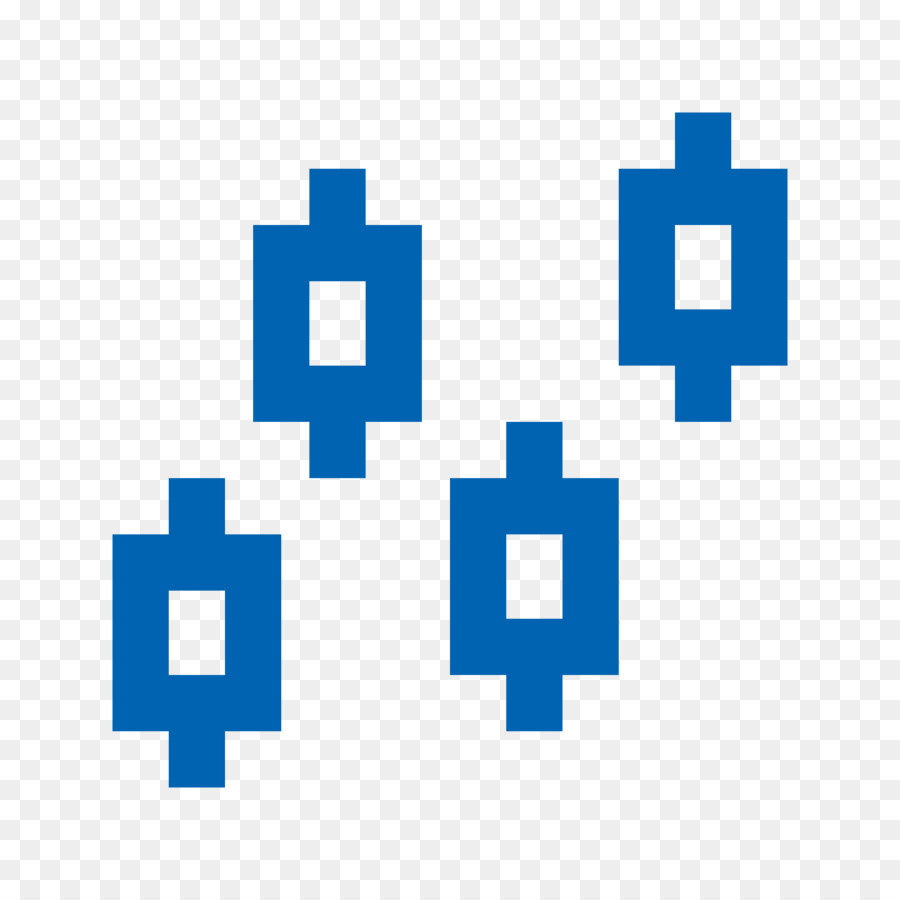 Candlestick Chart Blue png download - 1600*1600 - Free