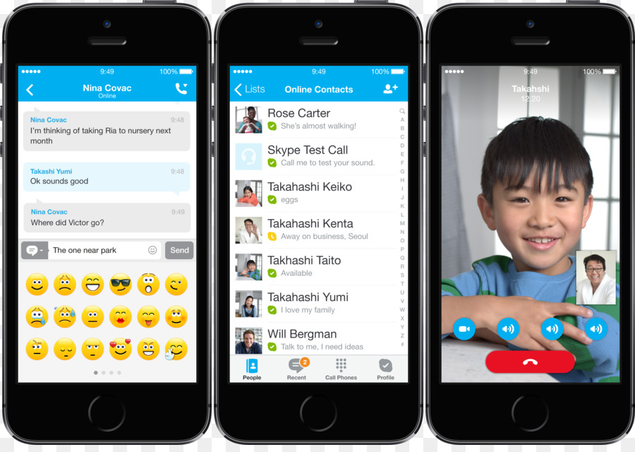 Skype for iphone and ipad updated with ios 7 redesign [ios blog.