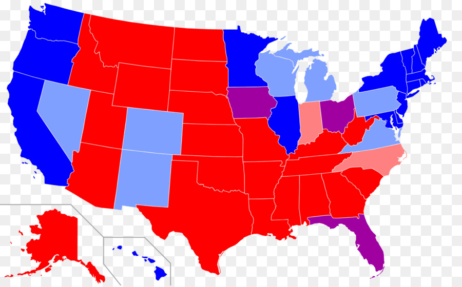 Political Party Map Of The United States.United States Presidential Election 2000 Red States And Blue States