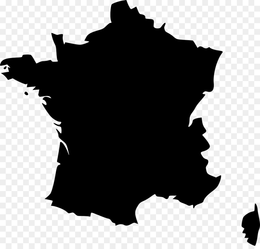 Map Of France Kisses.Tree Silhouette Png Download 980 924 Free Transparent France Png