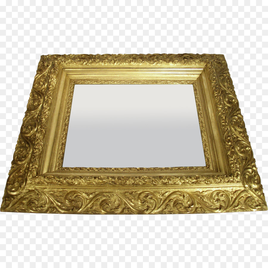 Art Nouveau Mirror Art Deco - mirror png download - 2002*2002 - Free ...