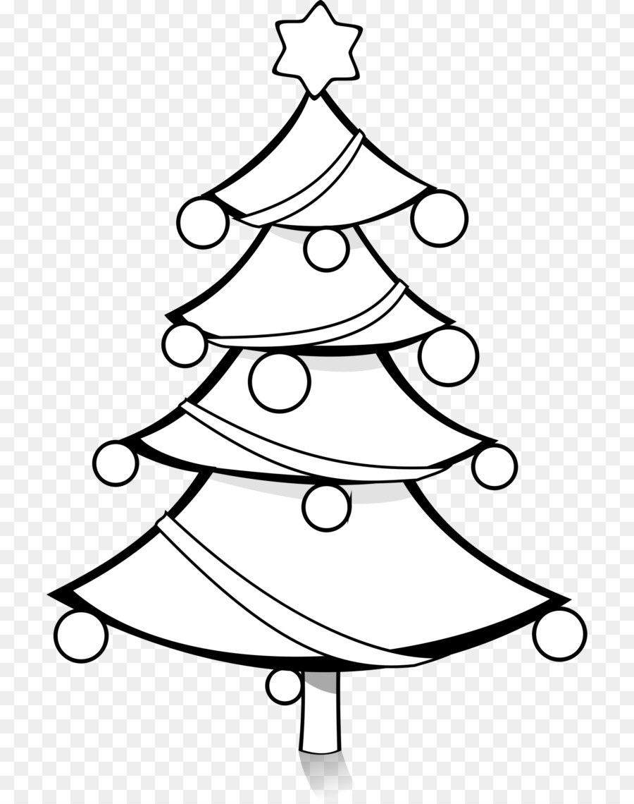 Christmas ornament Christmas tree Christmas lights Clip art - fir ...