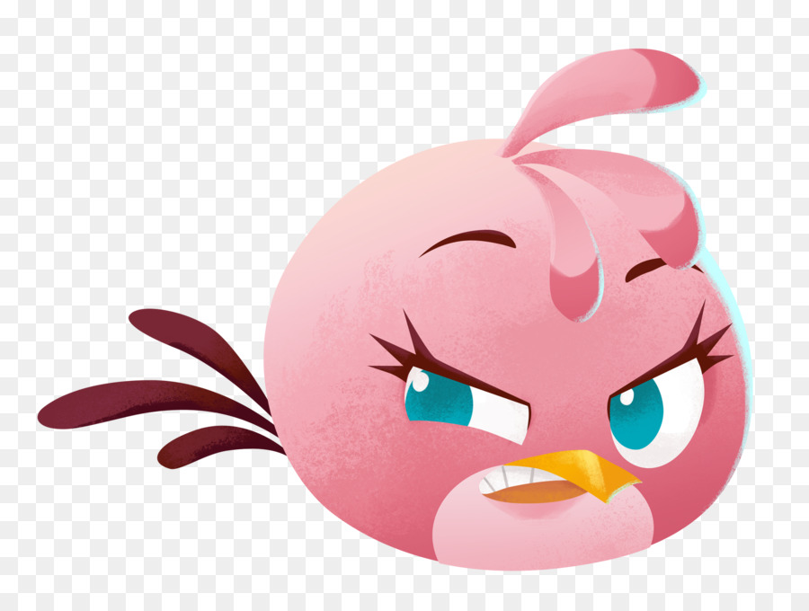 Angry Birds Stella Pink png download - 1986*1500 - Free Transparent