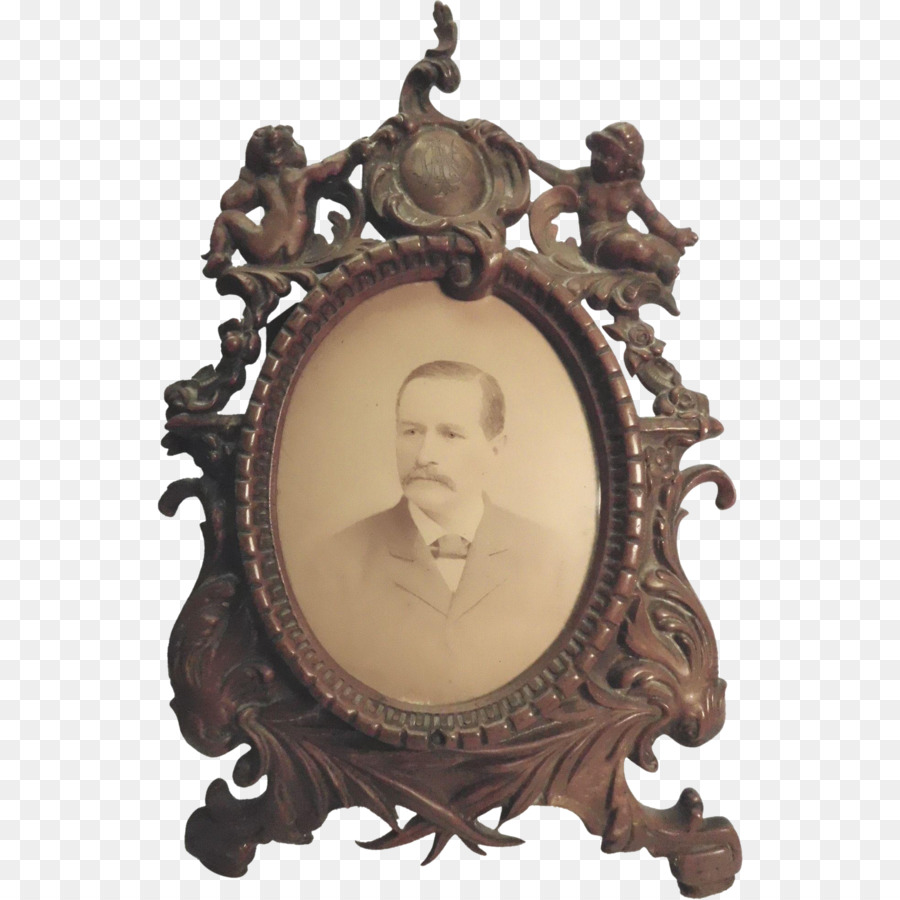 Victorian era Picture Frames Decorative arts Mirror - leaf frame png ...