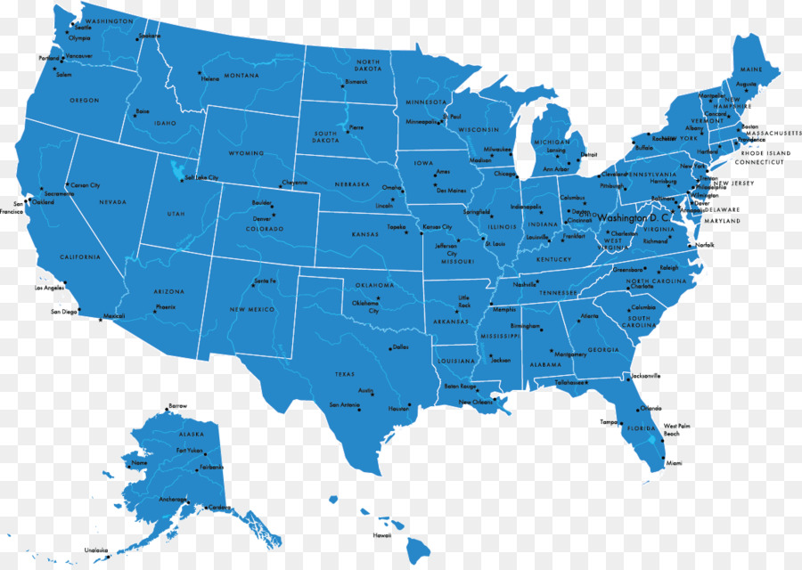 Map Of Usa Vector.Federal Government Of The United States Vector Map U S State Usa