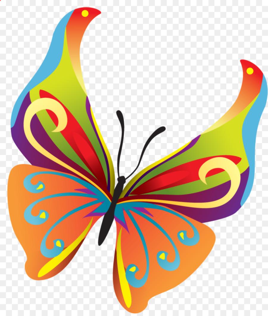 Mariposa de Insectos Clip art - teal marco Formatos De Archivo De ...