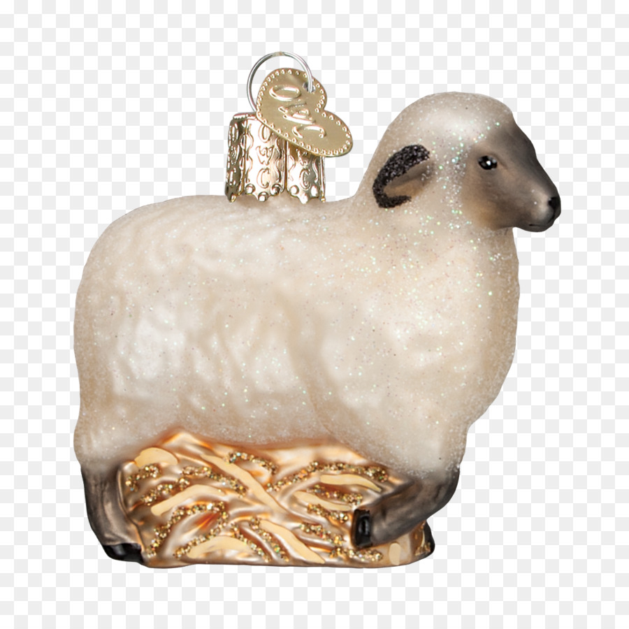 sheep unessasary christmas ornament goat livestock sheep