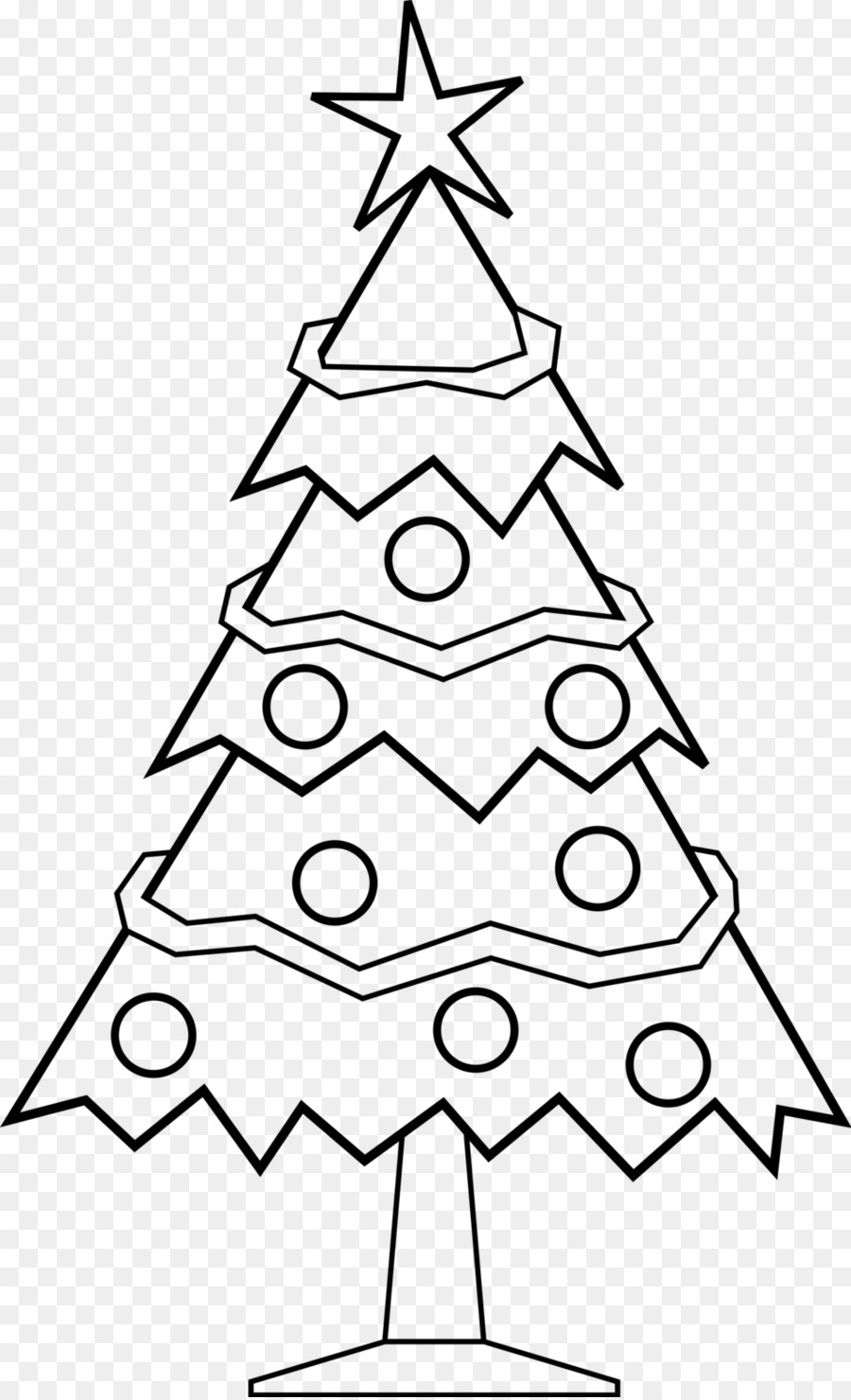 Christmas tree Santa Claus Drawing Clip art - christmas candy