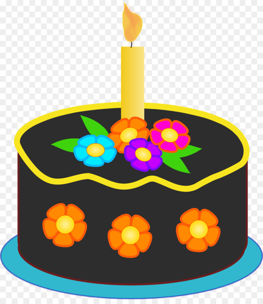 Birthday Cake Frosting Icing Clip Art Thanksgiving Png Download