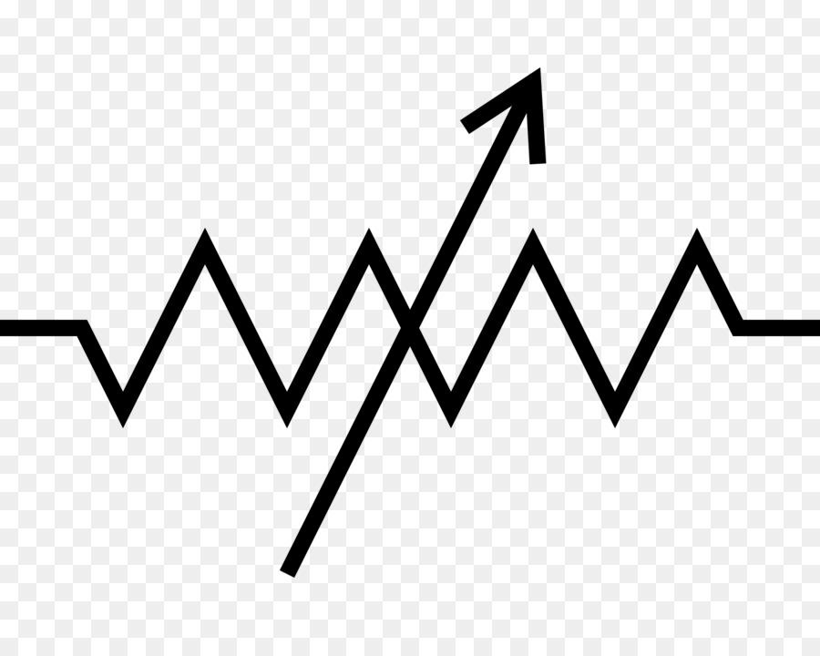Potentiometer Resistor Electronic symbol Wiring diagram Electronic ...