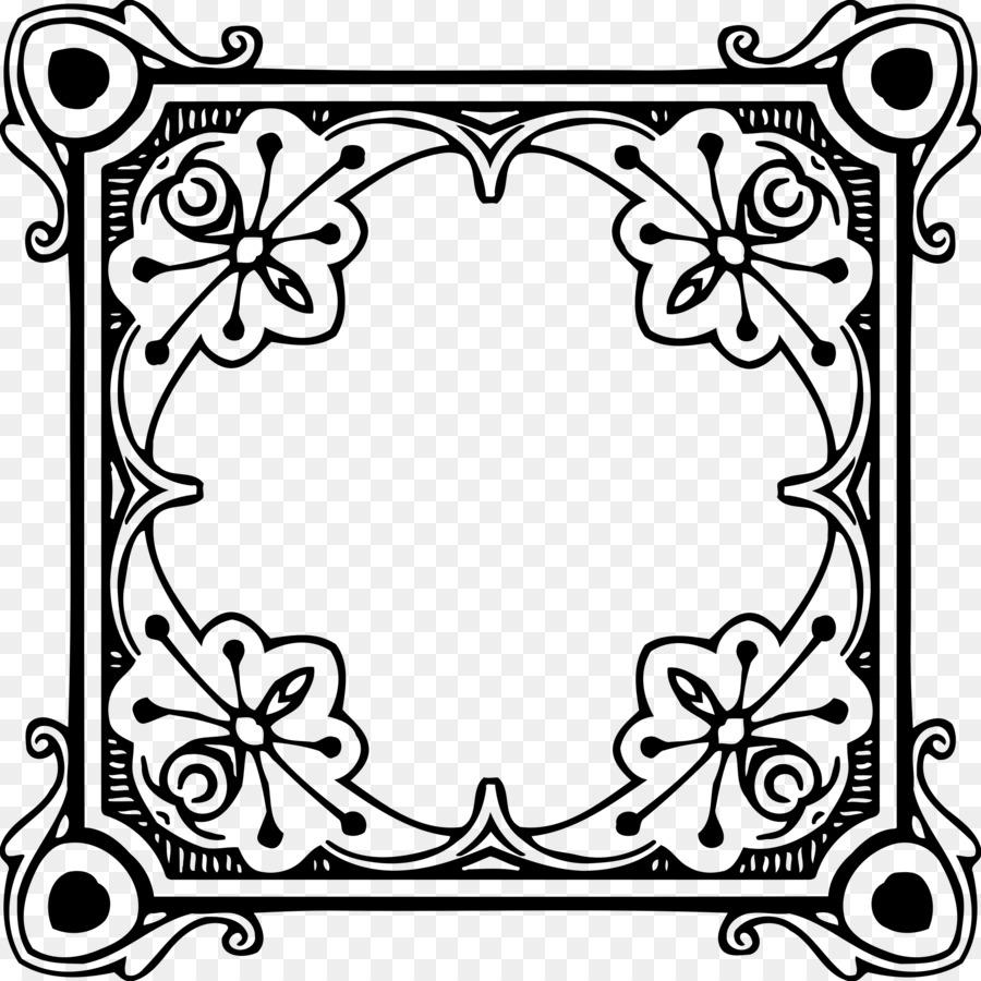 Bilderrahmen Clip art - quadratischen Rahmen png herunterladen ...