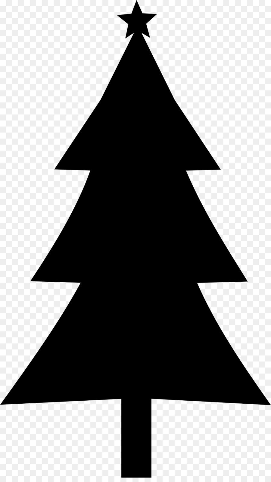 Weihnachten Baum Silhouette clipart - Tanne 1156*2037 transparenter ...