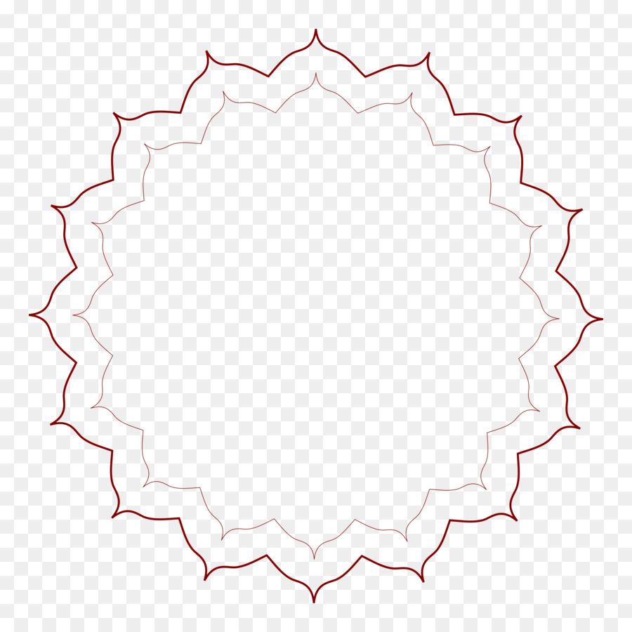 Círculo de arte de Línea de Ángulo de Clip art - el marco de brown ...
