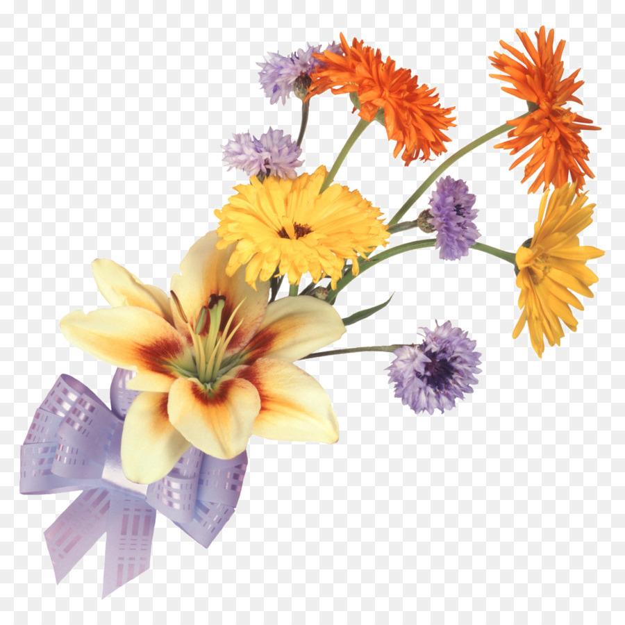 Flower Of The Fields Drawing Flower Bouquet Lilium Flower Png