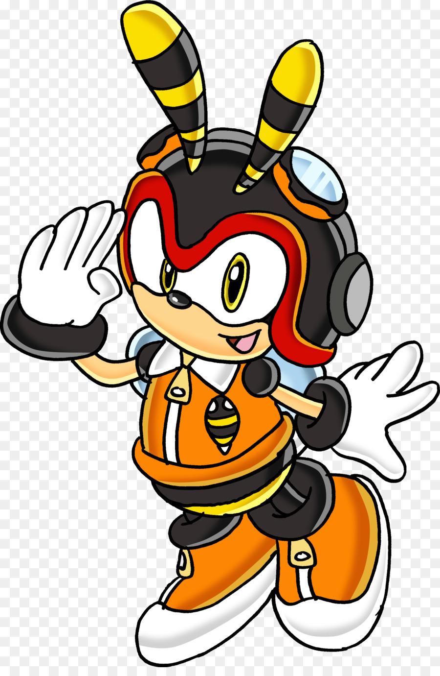 Charmy Bee Espio The Chameleon Vector The Crocodile Sonic