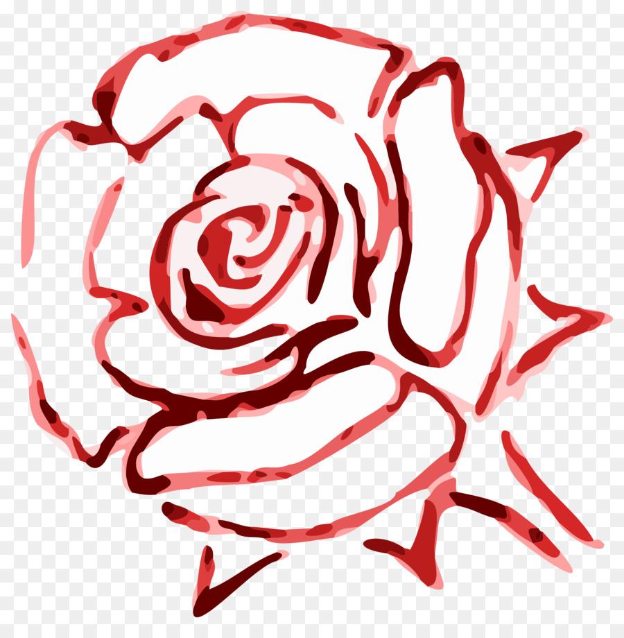 Rose Red Color Flower Clip art - rose leslie png download - 2383 ...