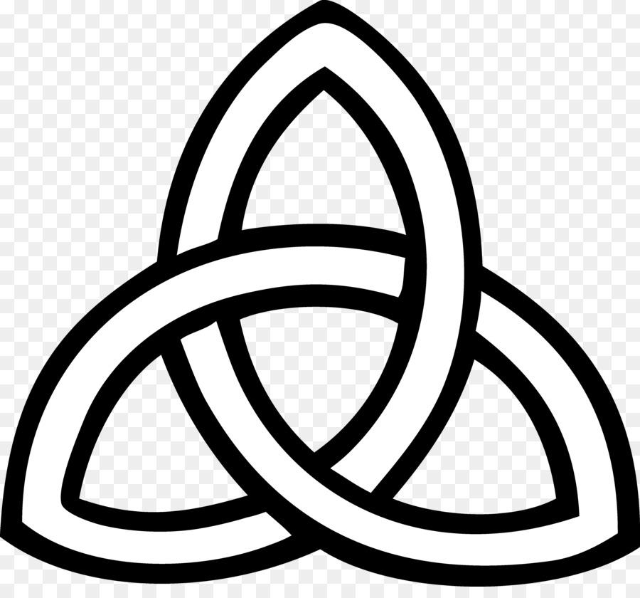 Triquetra Celtic Knot Trinity Symbol Clip Art Symbol Png Download