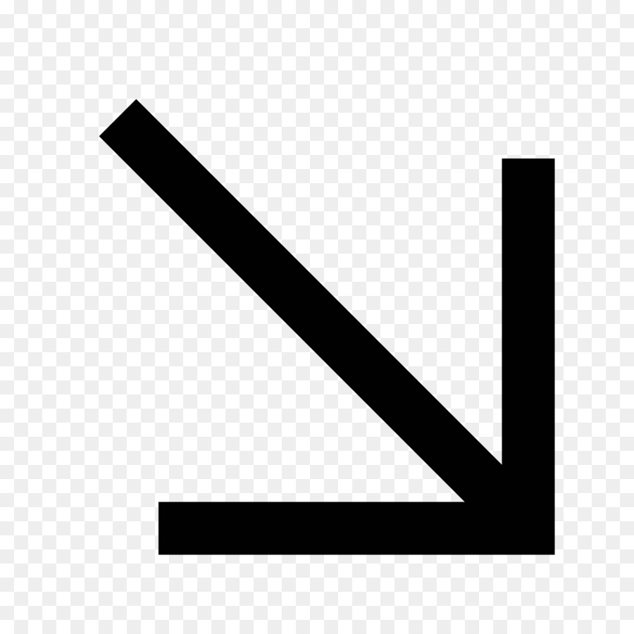 Arrow Down Computer Icons Android Symbol Arrow Png Download 1600