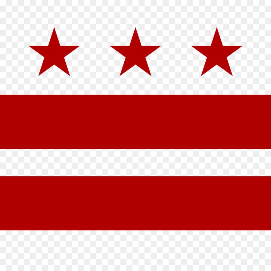 Bandera de Washington, DC de la bandera del Estado de Maryland ...